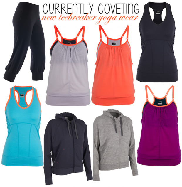 pink the town icebreaker yoga wear