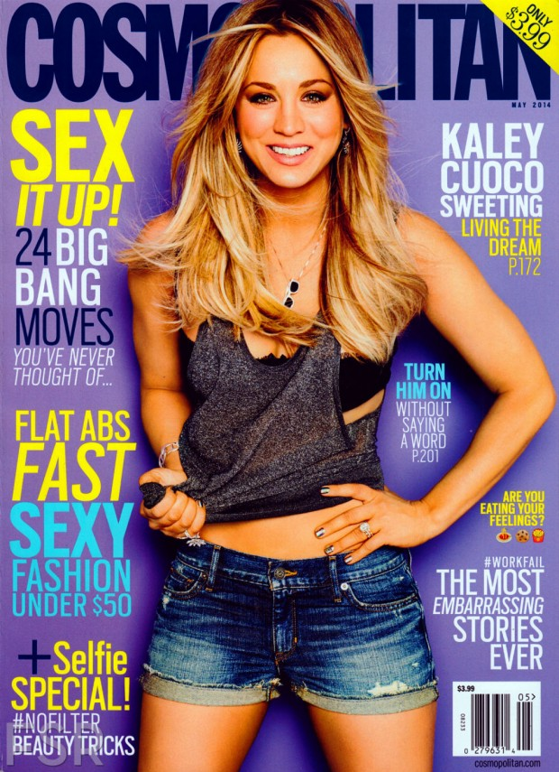 pink the town kaley cuoco sweeting cosmopolitan